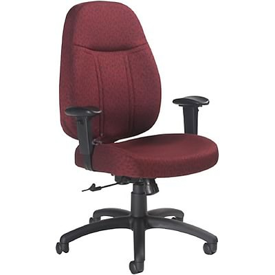 Global® 9331 Series Massey Managers Chair; Burgundy