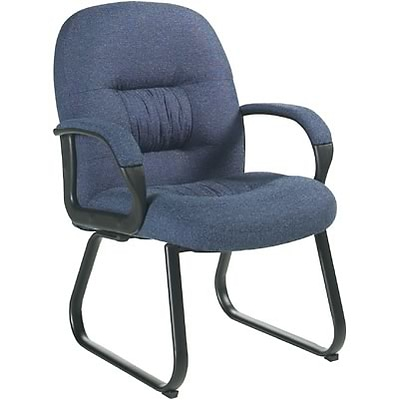Global® 9389 Series Comfort Guest Chair; Blue
