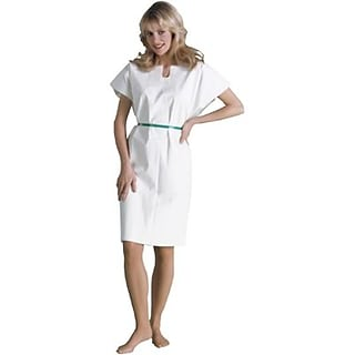 Tidi® White Adult Disposable Gowns