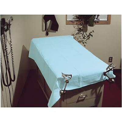 Tidi® Disposable Sheets; Tissue, 40x48, Blue, 100/Case
