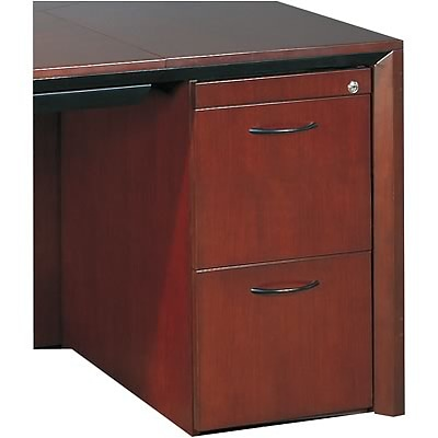 Mayline® Corsica Collection In Sierra Cherry; File/File Pedestal for Desk