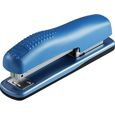 Quill Brand® Contemporary Full-Strip Desktop Stapler; Metallic Blue