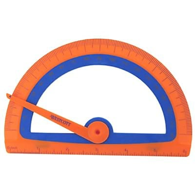 Westcott® Kids Soft Touch Protractor
