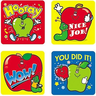 Motivational Stickers, Apples