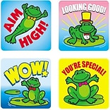 Motivational Stickers, Frogs