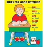 Rules for Good Listening Chartlet