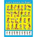 Let's Learn to Sign! Chartlet
