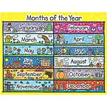 Months of the Year Chartlet Kid-Drawn