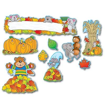Fall Bulletin Board Set