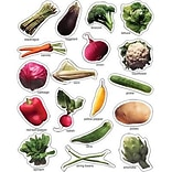 Vegetables: Photographic Stickers