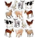 Farm Animals: Photographic Stickers