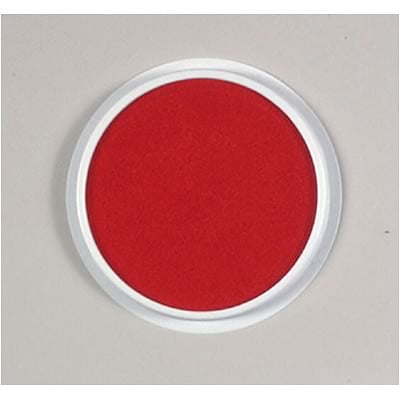 Ready2Learn Jumbo Circular Washable Stamp Pad, 6 Inch, Red (CE-6605)