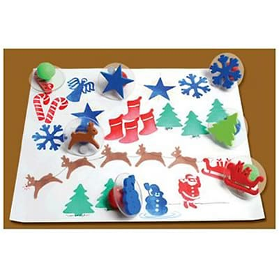 Ready2Learn™ Giant Stampers; Christmas, 10/pkg