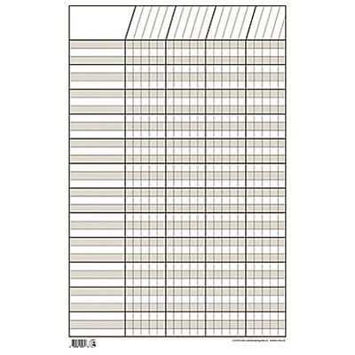 Creative Teaching Press™ Incentive Charts; Small Vertical, White
