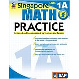 Singapore Math Practice Resource Book, Level 1A, Grade 1-2