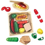 Wooden Set, Cutting Food Box, 31 pieces