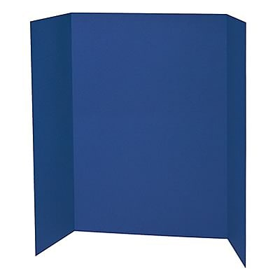 Pacon® Presentation Boards; 48X36 Blue
