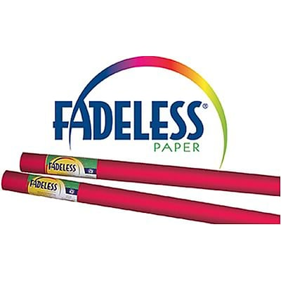 Fadeless® Art Paper Rolls; 24x12, Flame Red