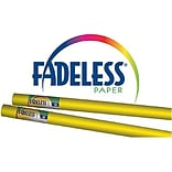 Pacon Fadeless Bulletin Board Art Paper Roll, 24 x 12, Canary Yellow (PAC57080Q)