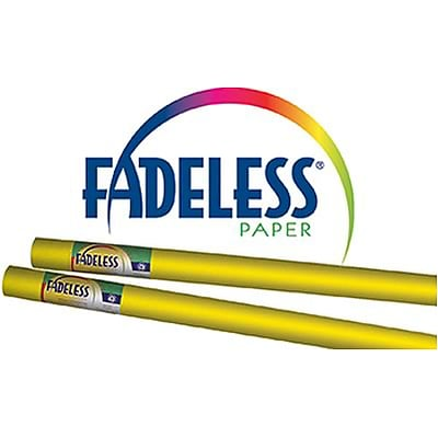 Fadeless® Art Paper Rolls; 24x12, Canary