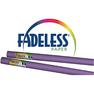 Pacon Fadeless Bulletin Board Art Paper Roll, 24 x 12, Violet (PAC57330Q)
