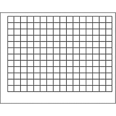 Trend® Wipe-Off® Charts; Graphing Grid (1 1/2 Squares)