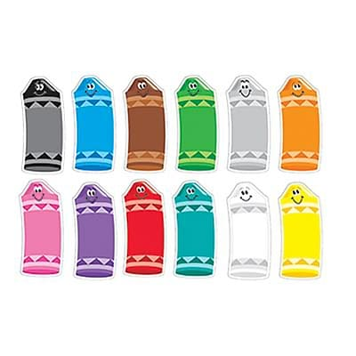 Trend® Classic Accents® Variety Packs; Crayon Colors