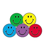Colorful Smiles Stickers