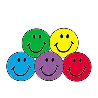 Trend® superSpots® Stickers; Colorful Smiles