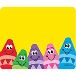 Name Tags, Colorful Crayons