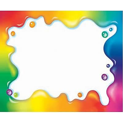 rainbow gel self adhesive name tags. Black Bedroom Furniture Sets. Home Design Ideas