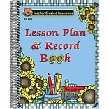 Lesson Plan and Record Book, Sunflowers