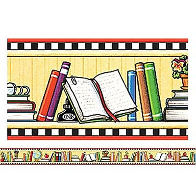 We Love Books Straight Border Trim from Mary Engelbreit, 3x35