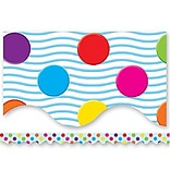 Mini Polka Dots Border Trim, Multicolor