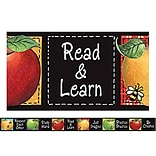 Colorful Apples Straight Border Trim by Susan Winget
