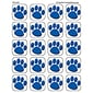 Teacher Created Resources Stickers; Blue Paw Prints, 120/Pack