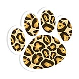 Ashley Magnetic Whiteboard Eraser; Leopard Paw