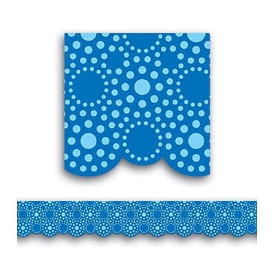 Creative Teaching Press™ Borders; Lots of Dots, Blue
