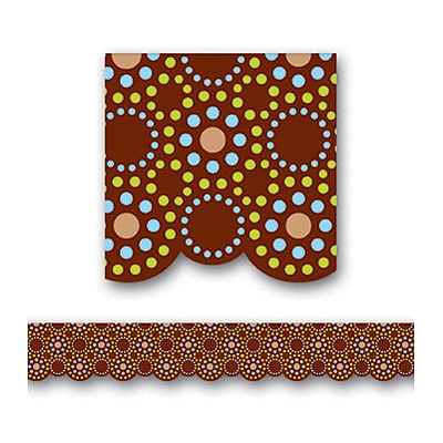 Creative Teaching Press™ Borders; Lots of Dots, Brown