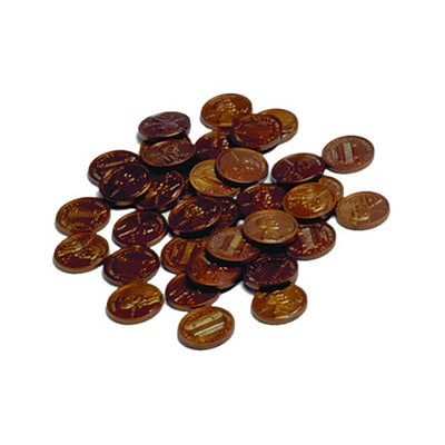 Money: Learning Advantage™ Plastic Coins 100 Pennies