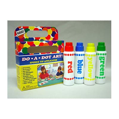 Do-A-Dot Art™ Markers; 4 Assorted Colors