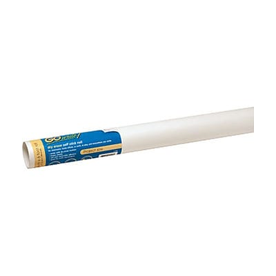 "GoWrite!® Dry Erase Self-Stick Paper Roll, 18"" x 6'"