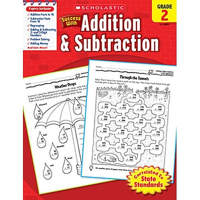 Scholastic Success With Addition & Subtraction, Grade 2