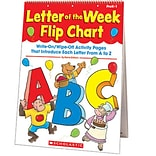 Scholastic Letter of the Week Flip Chart