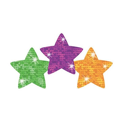 Trend® superShapes Stickers; Sparkle Super Stars