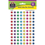 Teacher Created Resources Mini Stickers; Smiley Stars Valu-Pak, 1144/Pack