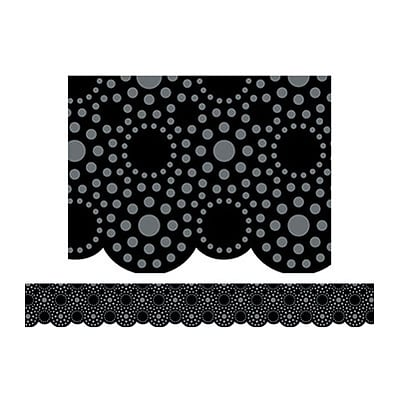 Creative Teaching Press™ Borders; Lots of Dots, Black
