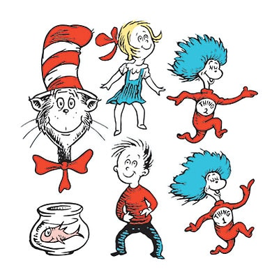 Dr. Seuss Characters Two-Sided Deco Kit