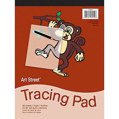 Art Street® Tracing Paper Pad; 9x12, 40 Sheets