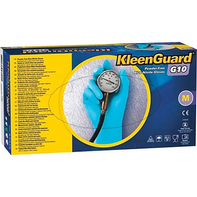 Kleenguard™ G10 Blue Nitrile Gloves, Large, 100/Box